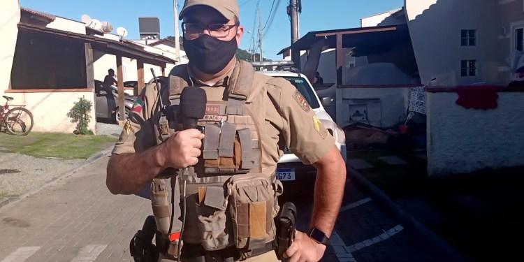[VÍDEO] Polícia Militar detalha morte de menina em Guaramirim  - Crédito: Gabriel Junior/Jaraguá FM