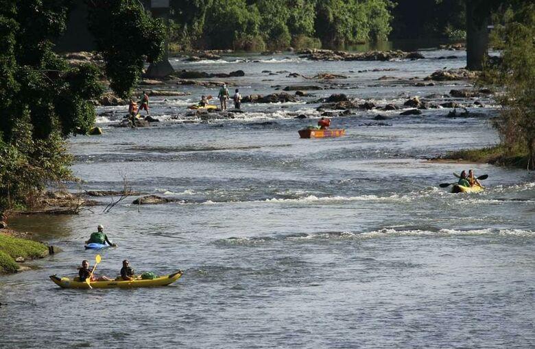 Limpeza do Rio Itapocu está programada para sábado - Crédito: Divulgação