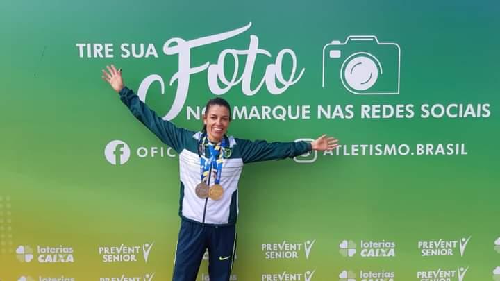 Abel e Simone garantem medalhas no Troféu Brasil de Atletismo - Crédito: Divulgação