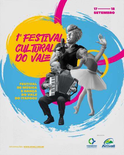 1° Festival Cultural do Vale do Itapocu está com inscrições abertas - Crédito: Divulgação