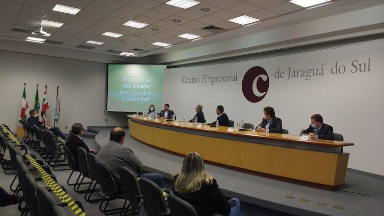 Jaraguá do Sul busca apoio para avançar em projeto inédito como cidade inteligente - Crédito: Ronaldo Corrêa