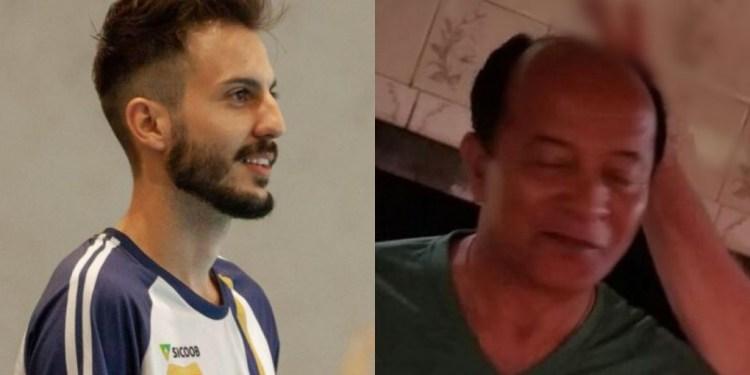 Paulo Debia, à esquerda, e Osvaldo da Silva, à direita - Crédito: Redes sociais/ND