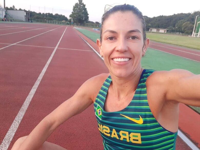 Atleta de Jaraguá manda notícias das Olimpíadas de Tóquio - Crédito: Divulgação