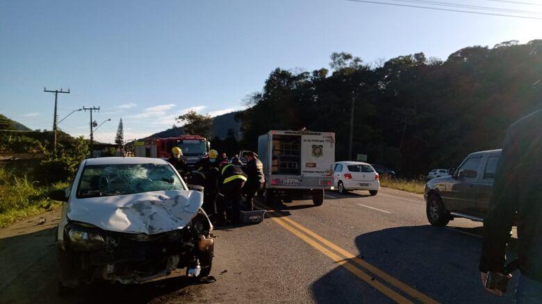 Motociclista morre em acidente na rodovia do Arroz  - Crédito: Gabriel Junior