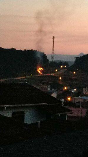 Três incêndios são registrados em Jaraguá - Crédito: Divulgação