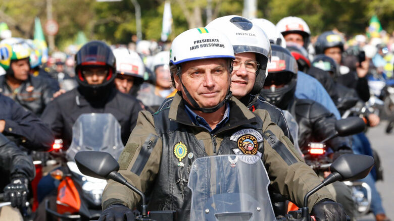 Bolsonaro deve fazer nova motociata em Santa Catarina - Crédito: Arquivo / Alan Santos PR