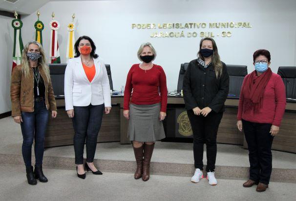 Vereadoras da Avevi vão se reunir em Guaramirim para dar celeridade às ações de proteção à mulher -