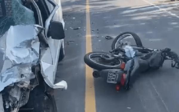 Vítima de acidente, motociclista morre no hospital em Jaraguá  - Crédito: Arquivo / Divulgação