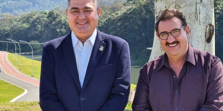 Apresentador Ratinho visita Jaraguá do Sul  - Crédito: Divulgação