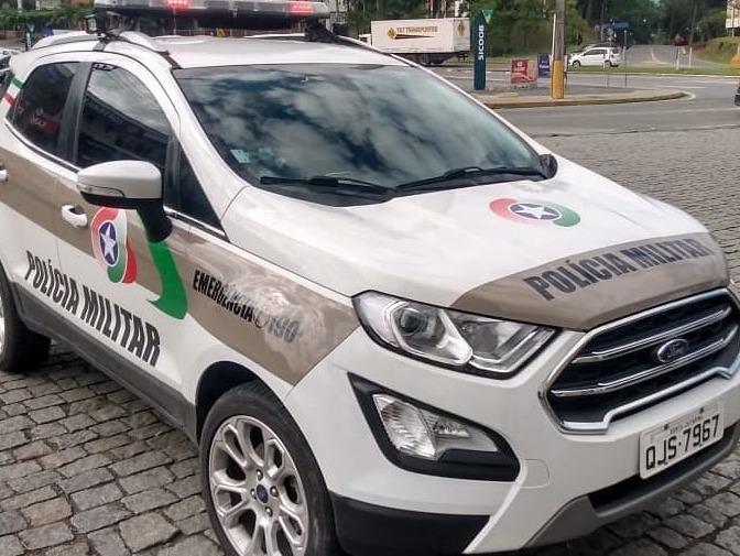 Moto é recolhida após perseguição policial em Schroeder - Crédito: Arquivo / Divulgação
