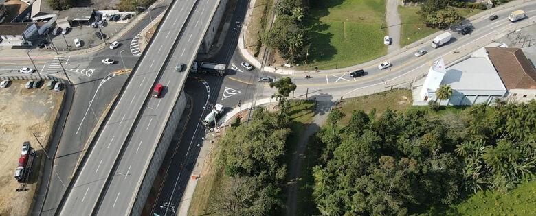 Confira como ficará o trânsito no viaduto da Waldemar Grubba - Crédito: Arquivo / Divulgação