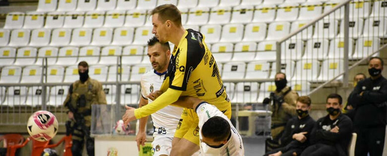 Jaraguá Futsal empata com o Santo André pela Liga - Crédito: Paulinho Sauer