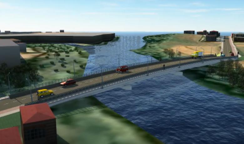 Município entrega ordem de serviço da Ponte da Menegotti em Jaraguá  - Crédito: Arquivo / Divulgação