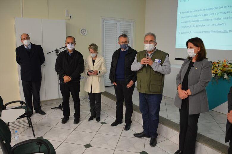 Ministro da Saúde visita Hospital Santa Isabel em Blumenau  - Crédito: Gabriel Silva/Comunicação HSI
