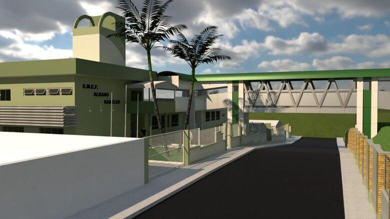 Reforma da Albano e construção de centro no Rio Cerro em licitação - Crédito: Divulgação