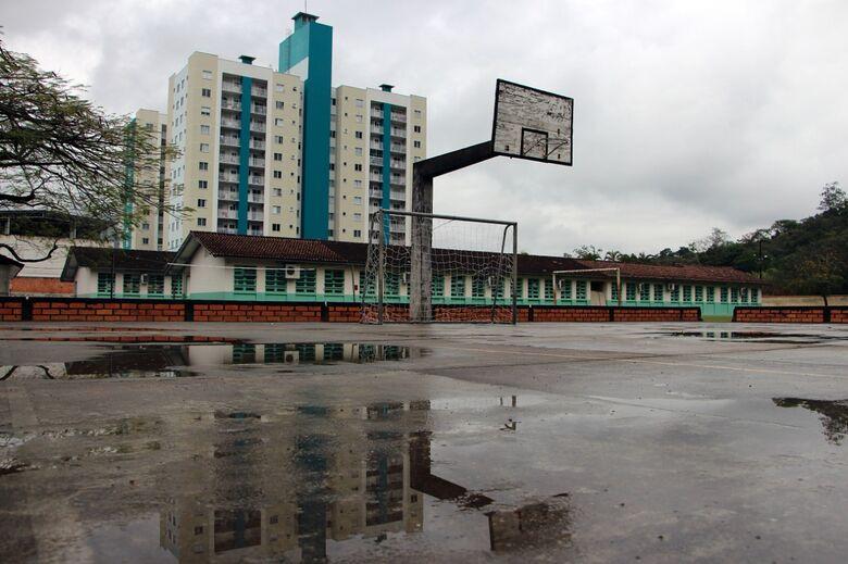 Governo licitará construção de um ginásio esportivo da escola Alvino Tribess - Crédito: Divulgação