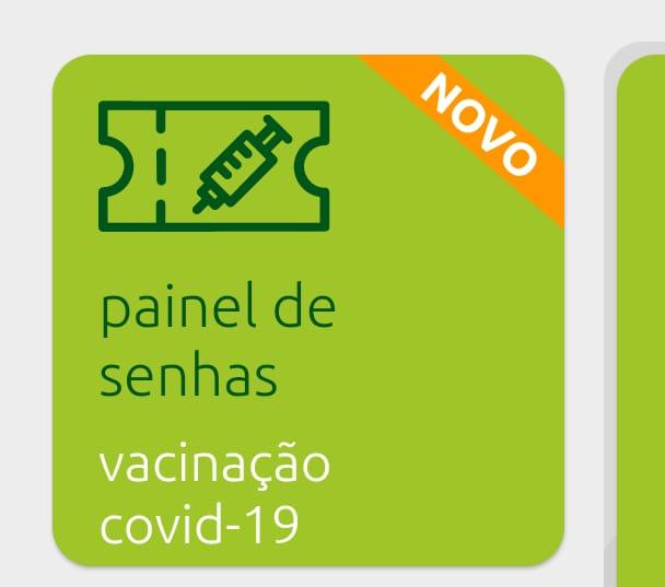 Senhas da vacinação covid podem ser acompanhadas por aplicativo em Jaraguá - Crédito: Divulgação