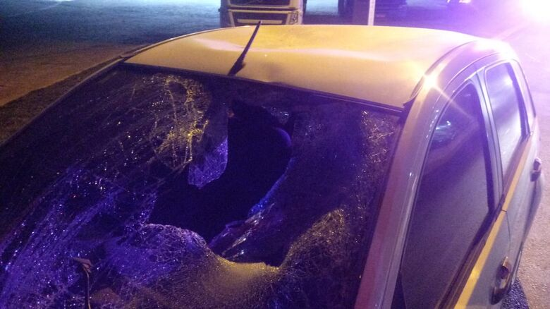 Dois pedestres são atropelados em Guaramirim - Crédito: Divulgação Bombeiros