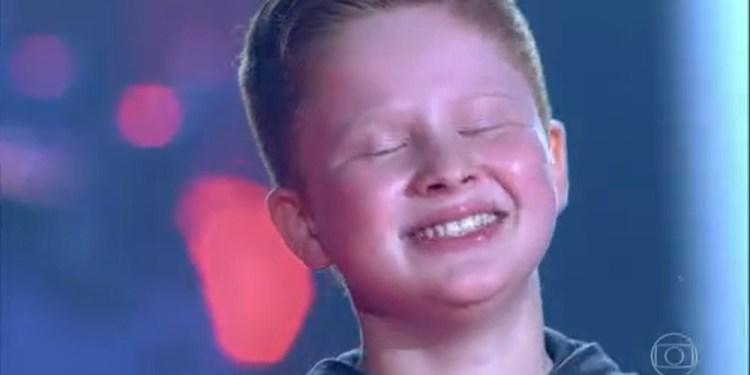 [Vídeo] Gustavo Bardim avança no The Voice Kids após escolha de Michel Teló - Crédito: Divulgação
