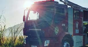 Trator incendeia em Massaranduba e bombeiros voluntários são chamados  -
