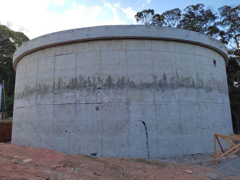 Guaramirim fará interligação da rede para novo reservatório de água - Crédito: Divulgação