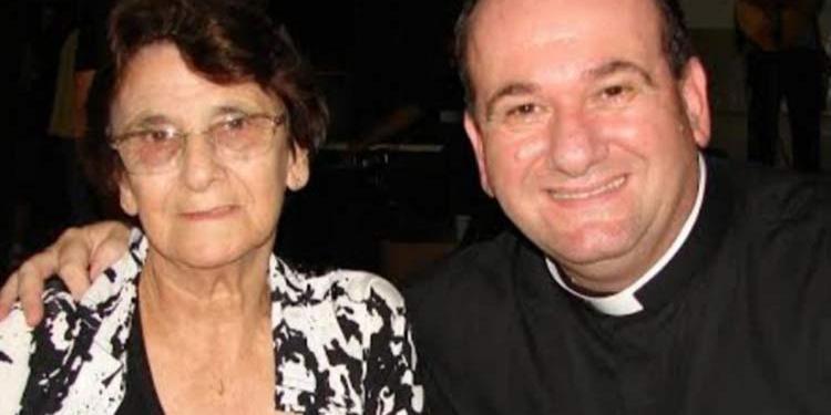 Mãe do padre João Bachmann morre em Guaramirim - Crédito: Divulgação
