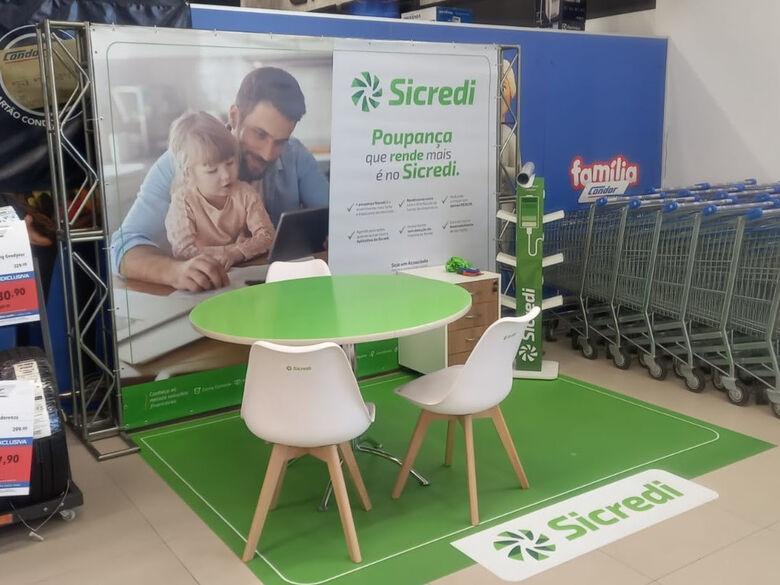 Sicredi inicia atividades em quiosque em Joinville - Crédito: Divulgação