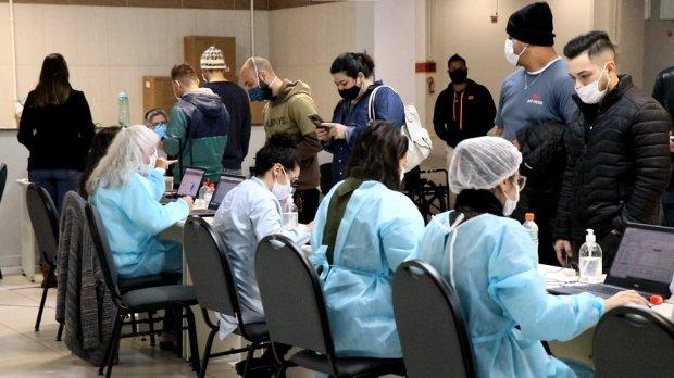SC chega a 70% da população adulta vacinada com primeira dose - Crédito:  Dóia Cercal/Secom