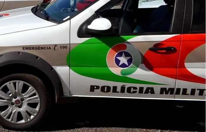 Homem é detido após agredir a esposa em Jaraguá - Crédito: Divulgação