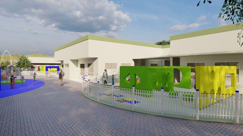 Ilha da Figueira vai ganhar novo centro de educação infantil - Crédito: Divulgação