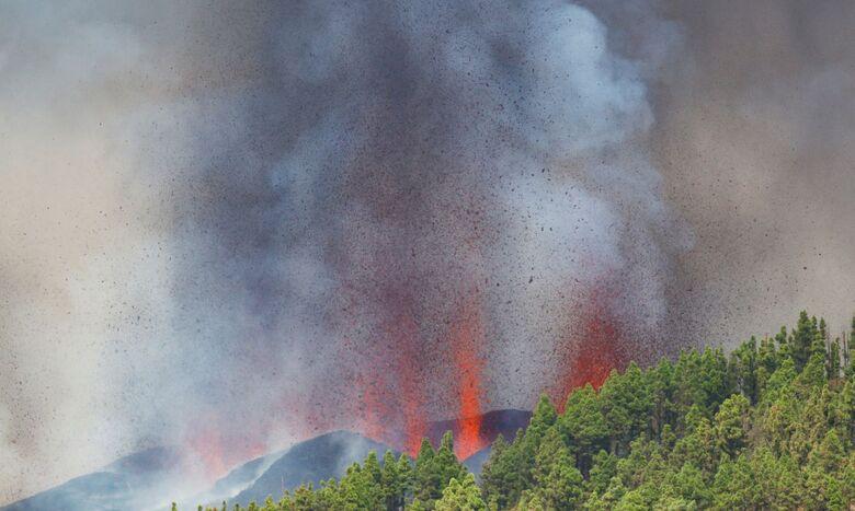 Erupção do vulcão nas Canárias pode durar até 84 dias - Crédito: Borja Soarez