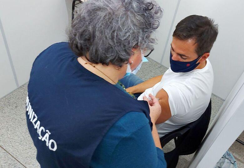 Vacinação covid: Jaraguá do Sul recebe mais de 6 mil doses para D2 - Crédito: Divulgação