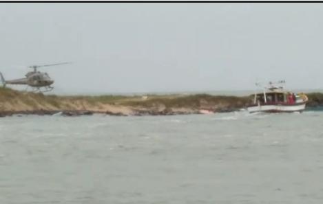 Homem morre afogado após barco virar em Balneário Barra do Sul - Crédito: Divulgação