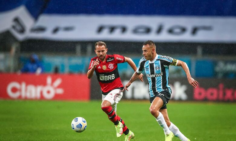 Copa do Brasil: Flamengo e Grêmio duelam em busca de vaga na semifinal - Crédito: Lucas Uebel / Grêmio