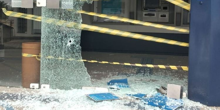 Bandidos atiram contra agência da Caixa em Barra Velha - Crédito: Arquivo / Divulgação