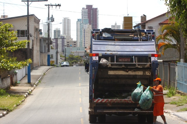 Coleta de resíduos está suspensa em Jaraguá - Crédito: Divulgação