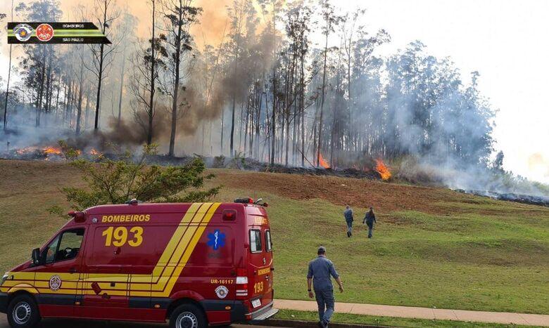 Queda de aeronave em Piracicaba (SP) deixa sete mortos - Crédito: Divulgação Bombeiros