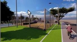 Terminal rodoviário da Vila Baependi terá área de lazer -