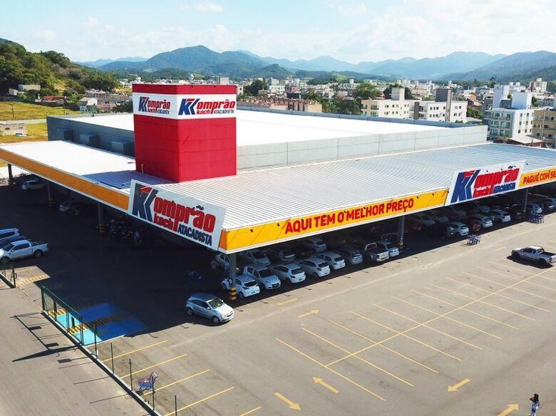 Komprão Koch Atacadista inaugura loja em Jaraguá do Sul - Crédito: Arquivo / Divulgação
