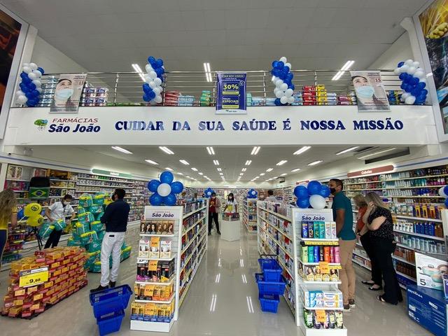 Luiz Alves ganha loja da 4ª maior rede de varejo farmacêutico do Brasil - Crédito: Arquivo / Divulgação