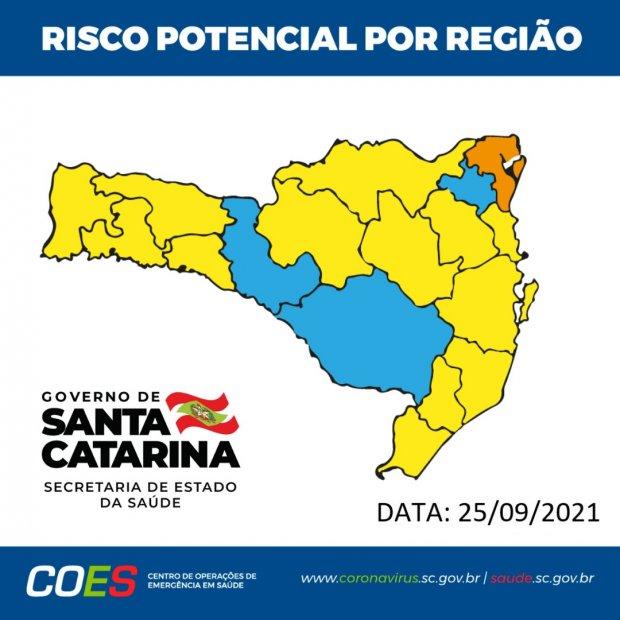 Região de Jaraguá sai do risco gravíssimo para covid-19 - Crédito: Divulgação