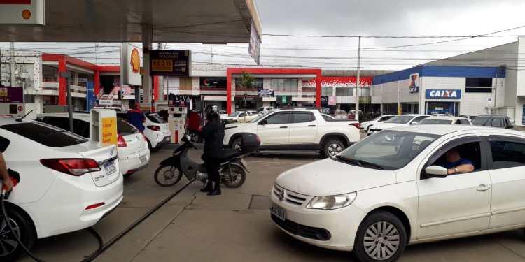 Começa a faltar combustível nos postos de Schroeder  - Crédito: Divulgação