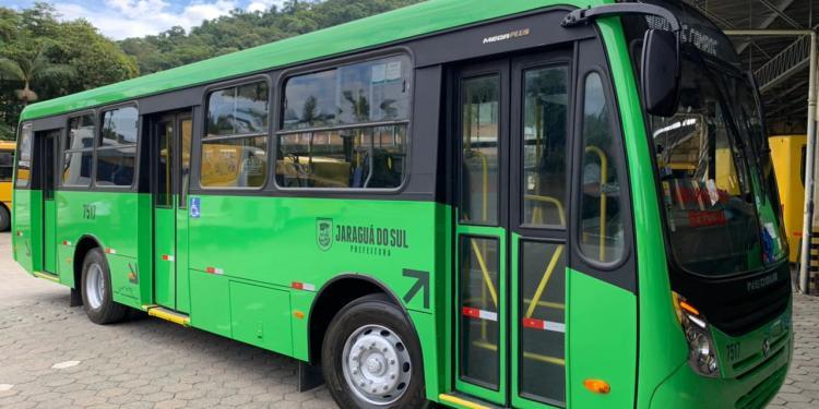 Transporte coletivo de Jaraguá do Sul tem combustível para até quinta-feira (09) - Crédito: Divulgação PMJS