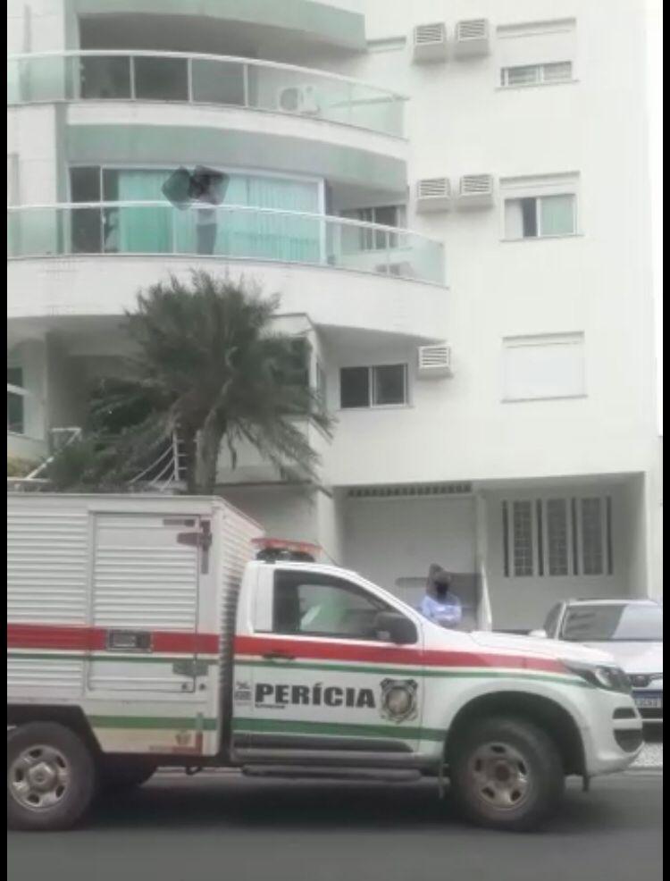 Homem morre após cair de prédio em Jaraguá do Sul - Crédito: Reprodução redes sociais