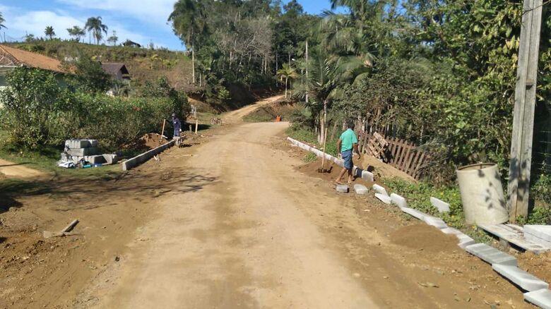 Pavimentação da rua Vicente Bernardes, em Guaramirim, inicia na próxima semana - Crédito: Divulgação