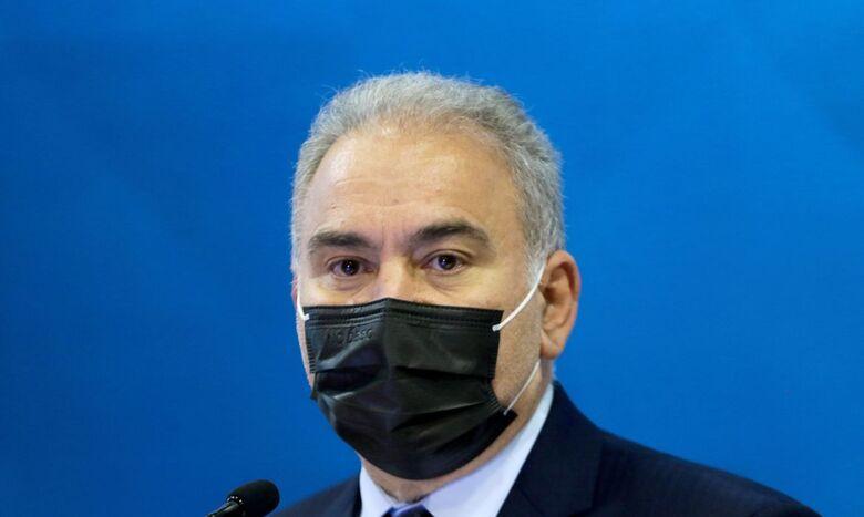 Ministro da Saúde testa positivo para covid-19 em Nova York - Crédito: Wilson Dias / Agência Brasil