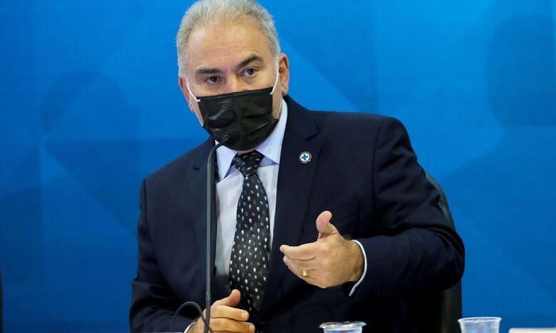 Covid-19: ministro destaca eventos adversos em adolescentes vacinados - Crédito: Wilson Dias / Agência Brasil