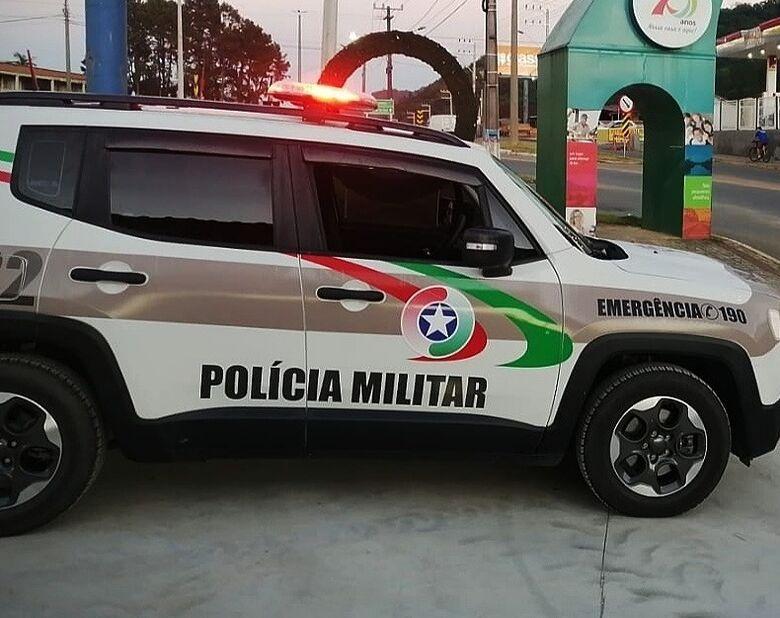Adolescente tenta fugir da PM em Guaramirim e é detido  - Crédito: Ilustrativa