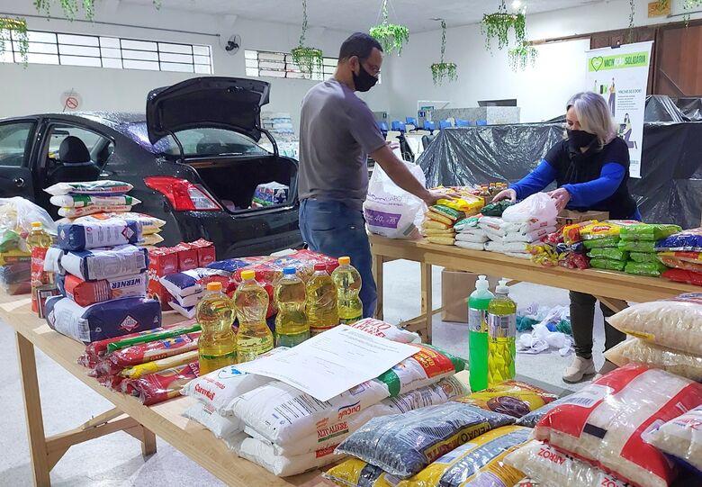 Mais três entidades recebem doações da VacinAção Solidária em Jaraguá  - Crédito: Divulgação