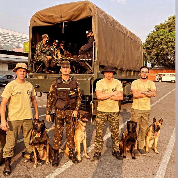 Jaraguaense instrui seminário de busca e salvamento para Polícia do Exército em MG - Crédito: Divulgação - Diário da Jaraguá